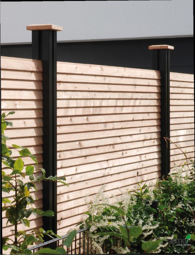 Megawood Accoya Sichtschutzzaune Vorgartenzaune Sichtblenden